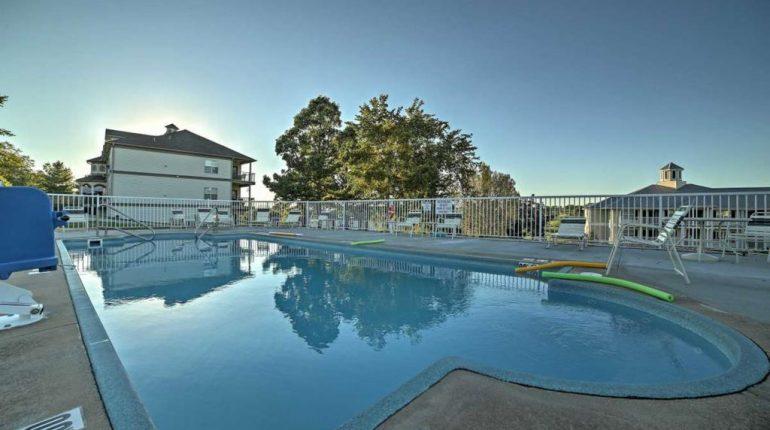 Branson King Resort King Condo 29