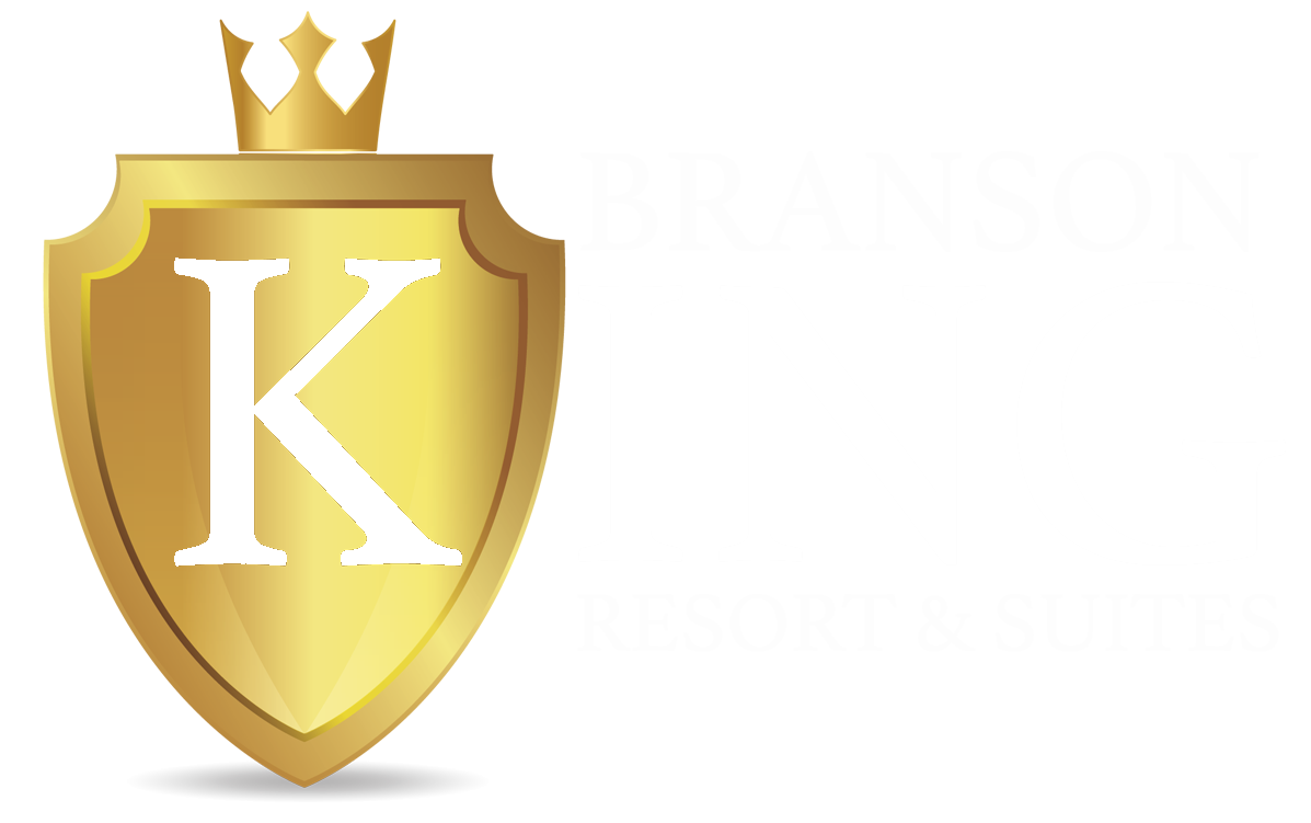 Branson King Resort White logo